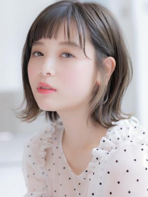 【Euphoria】大人かわいい☆外はねシースルーボブ