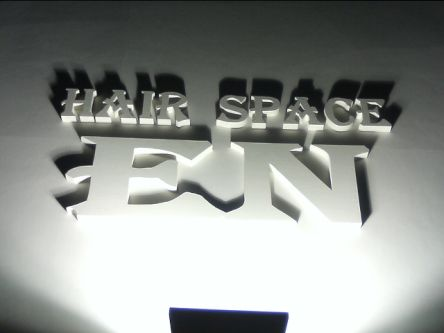 HAIR. SPACE EN5