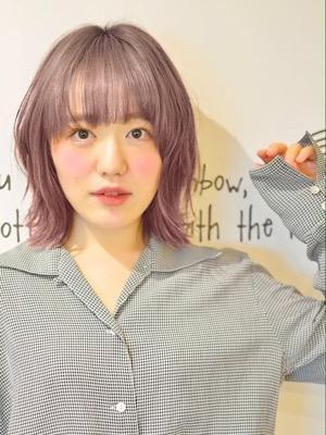 ラフな外ハネスタイル☆