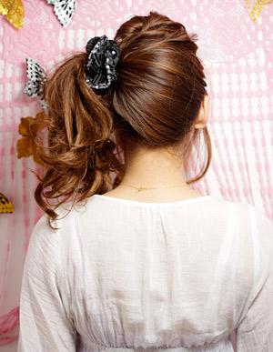 愛されるアレンジヘアー