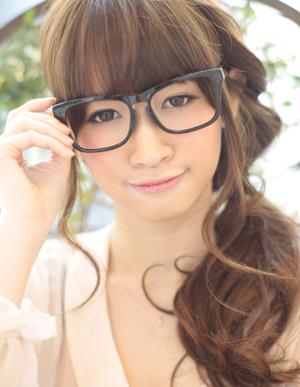 小顔髪型ゆるふわラクラク可愛いアレンジ(え-054)