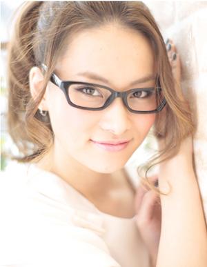 小顔髪型ゆるふわラクラク可愛いアレンジ(え-061)