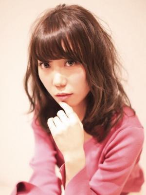 モテ髪パーマ×フェアリーピンク