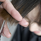 朝ラクチン♪コスメ前髪縮毛矯正+CUT+三種TR♪