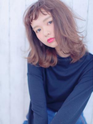 angel like・medium(パープルグレージュ)
