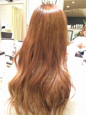 外国人風♪巻き髪・カラー