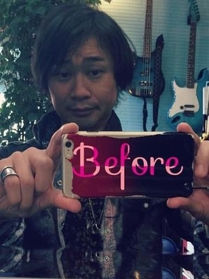 【ペルソナ美容室】 Before