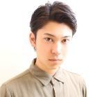 [メンズ専用]メンズカット+眉カット4,300円