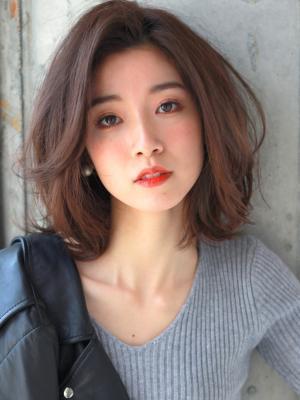 ラフカール☆スポテニアスミディアムボブ
