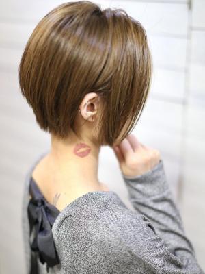 【 新宿savian】ショートボブミニマムボブ