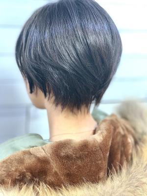 【 新宿savian】マニッシュショート