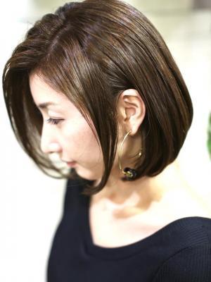【 新宿savian】ナチュラルボブ