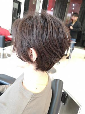 【D'cielオナギ】ふわりと可愛い大人ショートヘア