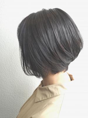 【D'cielオナギ】ハンサムショートXカーキグレージュ
