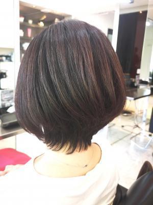 【D'cielオナギ】大人可愛いショートヘア