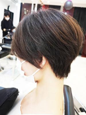 【D'ciel小梛】30代~の大人可愛いショートヘア