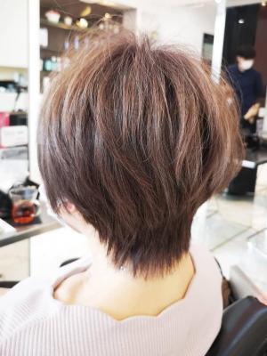 【D'ciel小梛】大人可愛いショートヘアXハイライトカラー