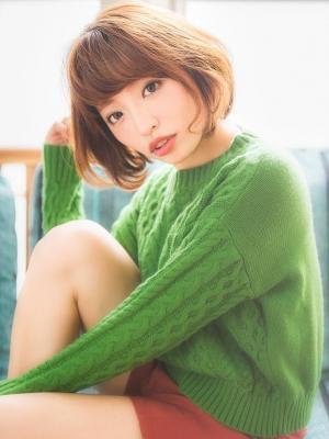 【aRietta】秋冬にピッタリボブ