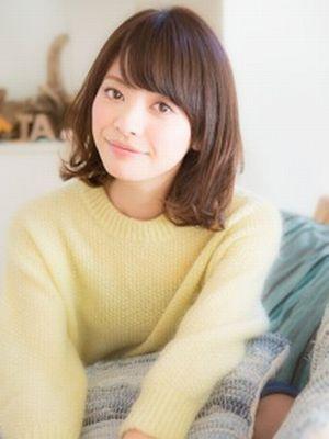 【aRietta】お手入れ簡単☆ニュアンスパーマミディアム