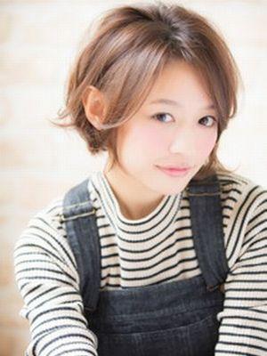 【aRietta】大人可愛いニュアンスショートボブ☆