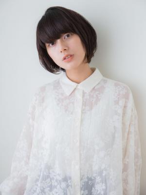 【aRietta】大人かわいい黒髪ジェンダーレスショート