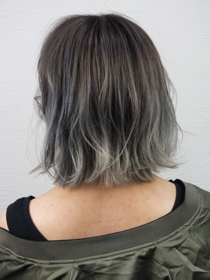 透明感ブルーグレージュ【saki】-A