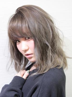 ホワイトベージュグラデーション-A【saki】