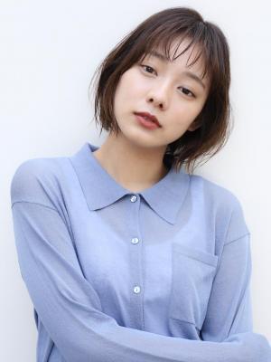 【ANDREY 宮村】ニュアンスミニボブシースルー前髪
