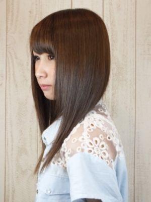 日本人のかわいさを100%引きだすストレート