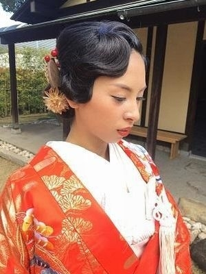 花嫁アレンジ