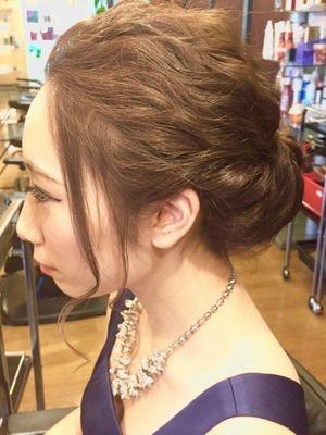 横浜 結婚式 ヘアセット