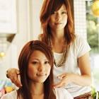 【理想の艶髪へ】カラー+カット+イオン導入サイバートリートメント