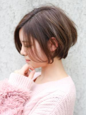 大人なかわいい 小顔ハンサムショート【NOLUE 表参道】