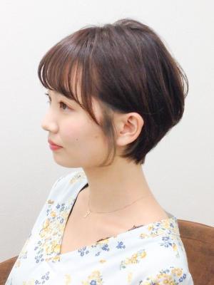 インナーカラー☆ショートボブ