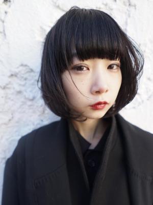 束感ワンカールボブ model:老月ミカ hair:ヒラノ