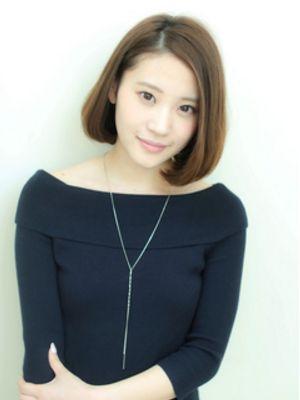 【MUSE】オトナ小顔シンプルボブ