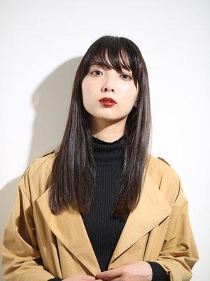 【梅田中津canna】グロッシーストレート