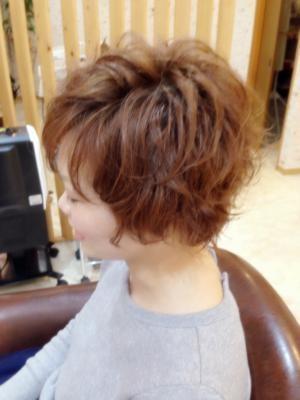 フェミニンショート Lehua Hair Garden