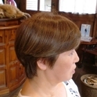 染めるほど髪が良くなるカラー+お手入れ簡単カット S(耳たぶぐらいの長さ)