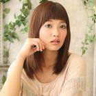 前髪カット+縮毛矯正13,200円→11,000円(根元5cm未満)