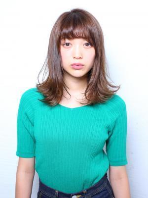 insi中山☆ナチュラルミディアムスタイル☆