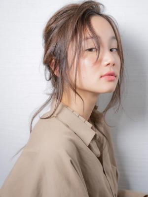 insi中山☆シアーカラーセミディ×アレンジ
