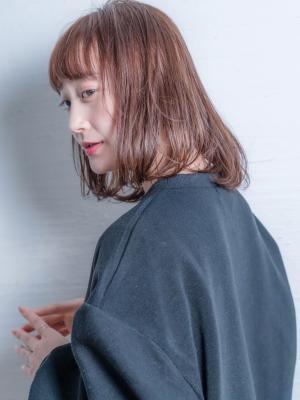 insi中山☆コーラルブラウンミディ☆