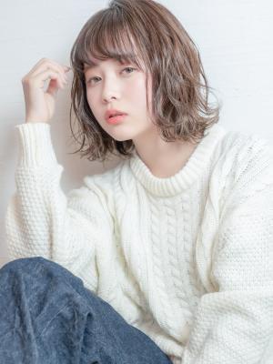 insi中山☆波ウェーブmixボブ☆