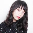 『平日限定』小顔カット+オーガニックカラー+TR9600円