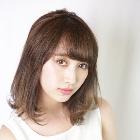 【アッシュ系カラー♪】カット+リタッチエドルカラー+TOKIO Tr
