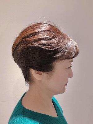 短い髪でも出来る大人のまとめ髪