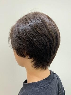 髪のクセも活かす◎毛流れが自然なこなれショート