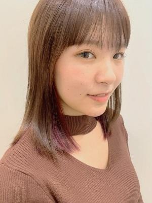 チラ見えが可愛い◎インナーピンクカラー☆