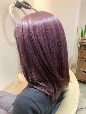 【秋冬の濃い紫◎モーブバイオレットカラー◎】